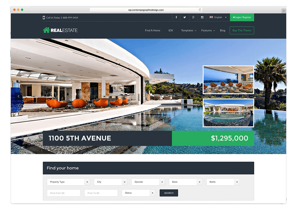 Real estate web design Marbella