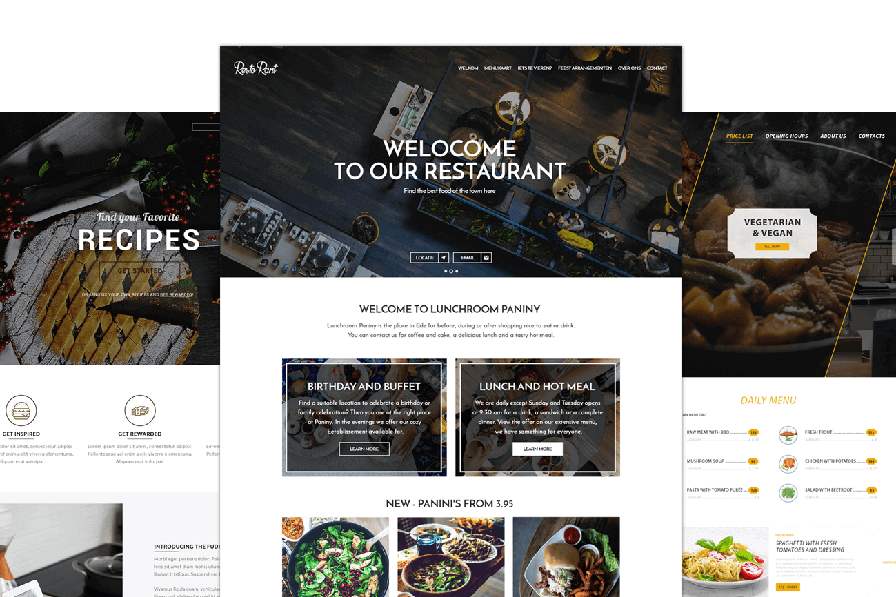 Website For Restaurants What Should You Pay Attention To