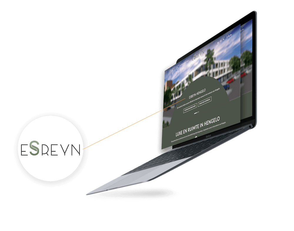 Esreyn residence hengelo fml marketing logo design for Dutch real estate websites