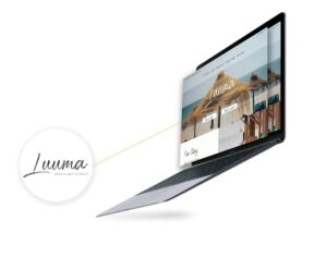 website design Luuma beach restaurant marbella